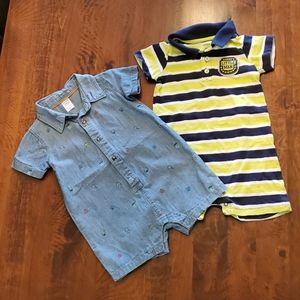 Carters rompers 24 months